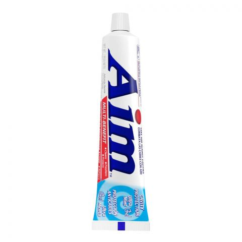 Aim Multi-Benefit Ultra Mint Gel Cavity Protection Toothpaste, 156g