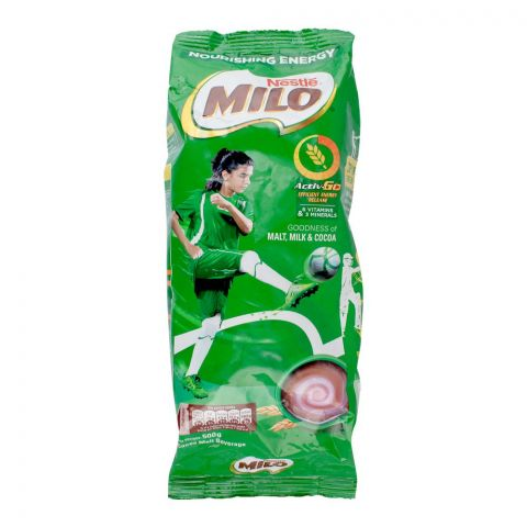 Nestle Milo Powder, Pouch, 500g