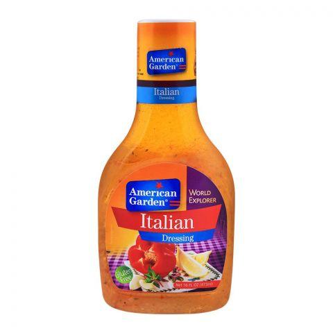 American Garden Italian Dressing, Gluten Free, 16oz/473ml