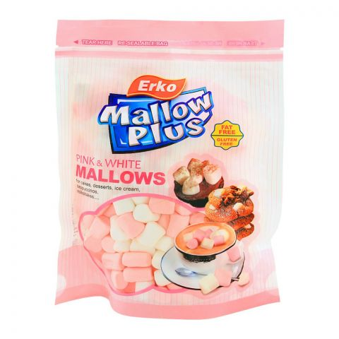 Erko Mallow Plus Pink & White, 100g