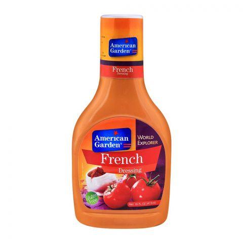 American Garden French Dressing, Gluten Free, 16oz/473ml