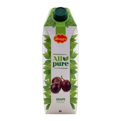 Shezan All Pure Grape Fruit Nectar, 1 Liter