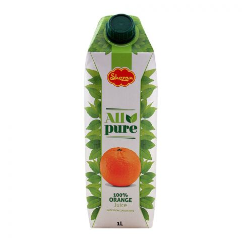 Shezan All Pure 100% Orange Juice, 1 Liter