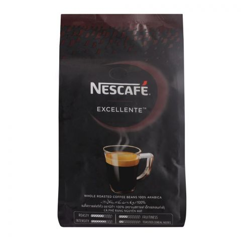 Nescafe Excellente Whole Roasted Coffee Beans, 500g