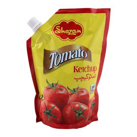 Shezan Tomato Ketchup, Pouch, 500g