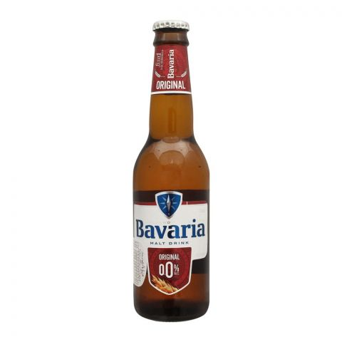 Bavaria Original Malt Drink, Bottle, 330ml