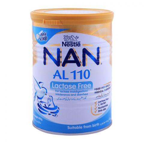 Nestle NAN AL 110, Lactose Free, -400g