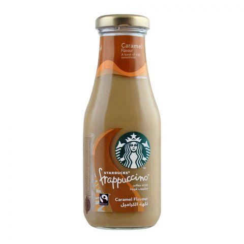 Starbucks Frappuccino Coffee Drink, Caramel Flavor, Bottle, 250ml