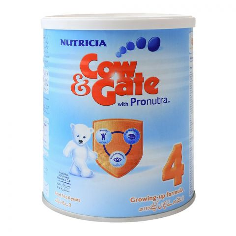Cow & Gate With Pronutra No. 4, Growing-Up Formula, 400g, Tin