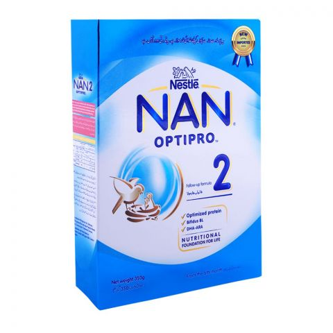 Nestle NAN Optipro, Stage 2, Follow-Up Formula, 350g