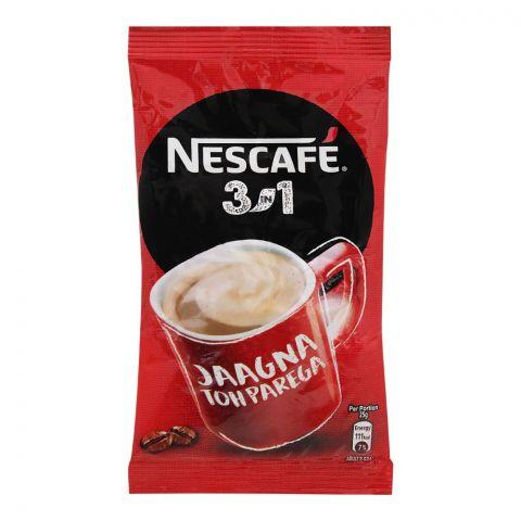 Nestle Nescafe 3-In-1 Coffee Sachet, 25g, 1 Count