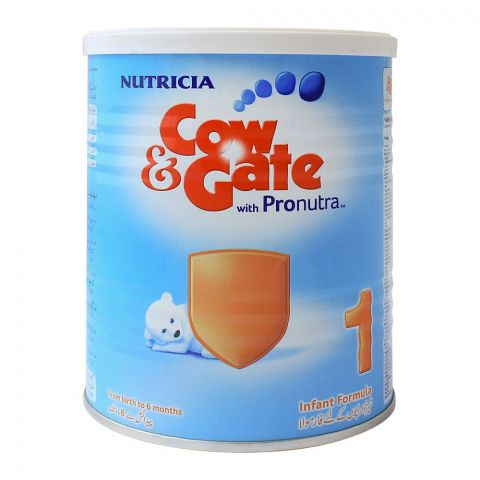 Cow & Gate With Pronutra No. 1, Infant Formula, 400g, Tin