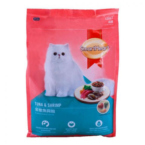 SmartHeart Adult Tuna & Shrimp Cat Food 1.2 KG