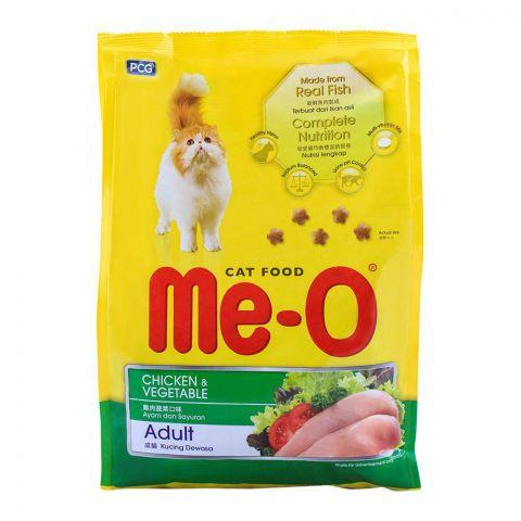 Me-O Adult Chicken & Vegetable Cat Food 1.2 KG