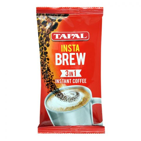 Tapal Insta Brew 3-In-1 Instant Coffee, 1 Count, 25g