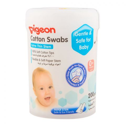 Pigeon Cotton Swabs 200pcs Pk-871