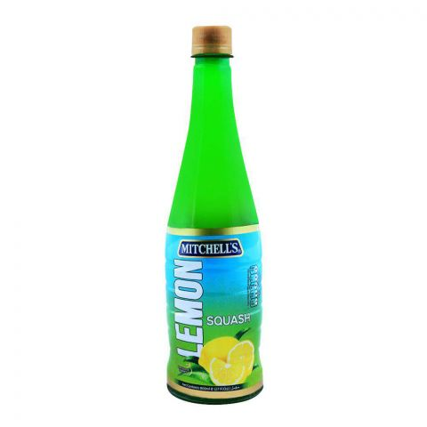 Mitchell's Lemon Squash 800ml