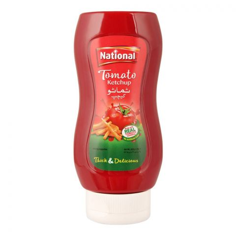 National Tomato Ketchup Squeezy, 400g