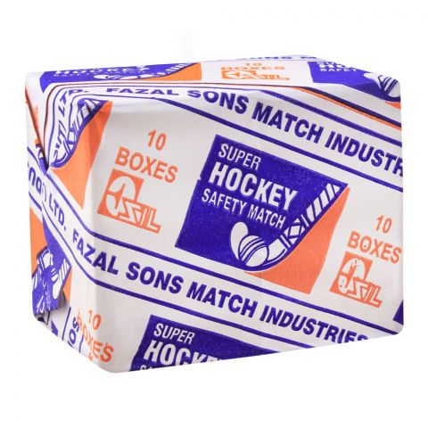 Super Hockey Safety Match, 10 Boxes