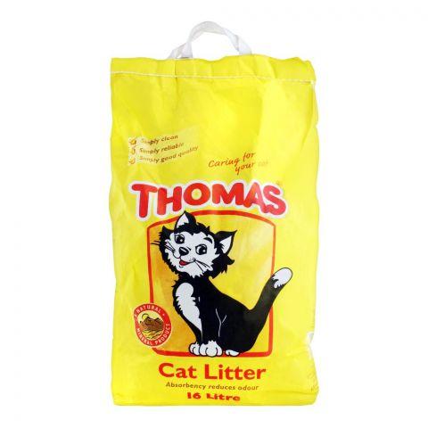 Thomas Cat Litter, 16 Liters