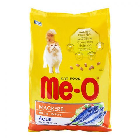 Me-O Adult Mackerel Cat Food 3 KG