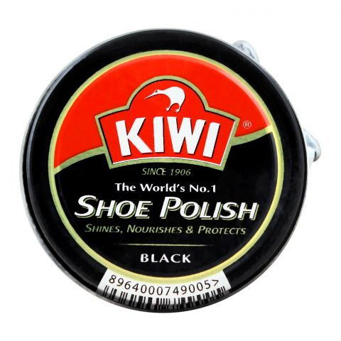 Kiwi Shoe Polish, Black, 20ml