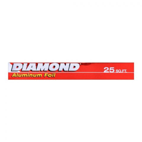 Diamond Aluminum Foil 25 Sq. Ft.