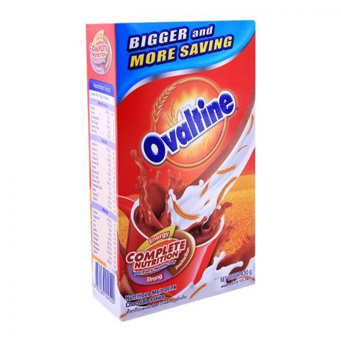 Ovaltine Malt Drink, Chocolate, 430g Box