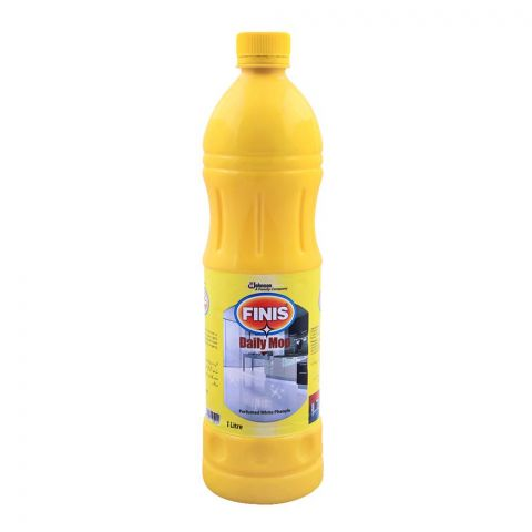 Finis Daily Mop, Perfumed White Phenyle, Concentrated, 1 Liter