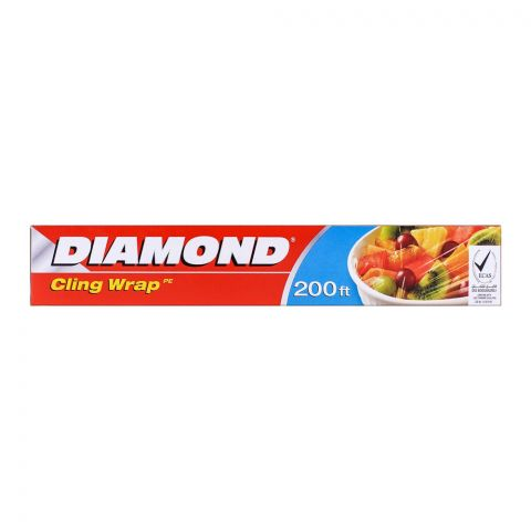 Diamond Cling Wrap 200 ft. Box