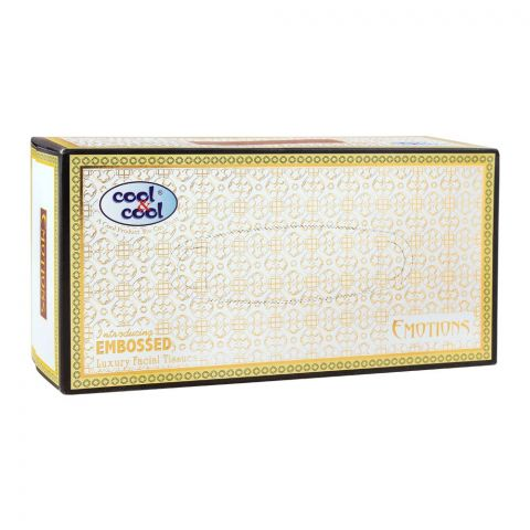 Cool & Cool Emotions Facial Tissues, 150x2 Ply