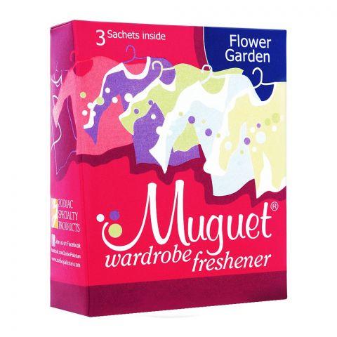 Muguet Wardrobe Freshener, Flower Garden, 3 Sachets
