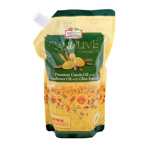 Canolive Oil 1 Litre Standy Pouch