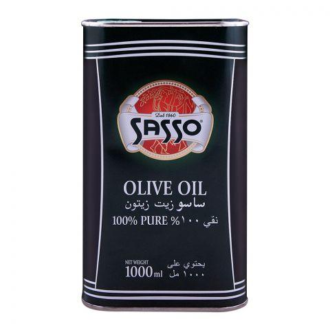 Sasso Oilve Oil 1000ml Tin