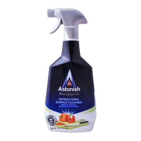 Astonish Antibacterial Surface Cleanser Trigger 750ml