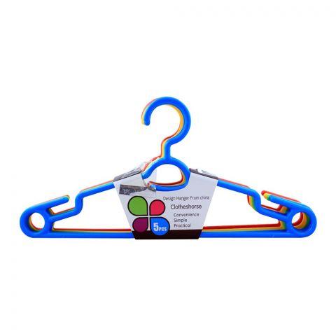 Plastic Cloth Hangers, 6-Pack