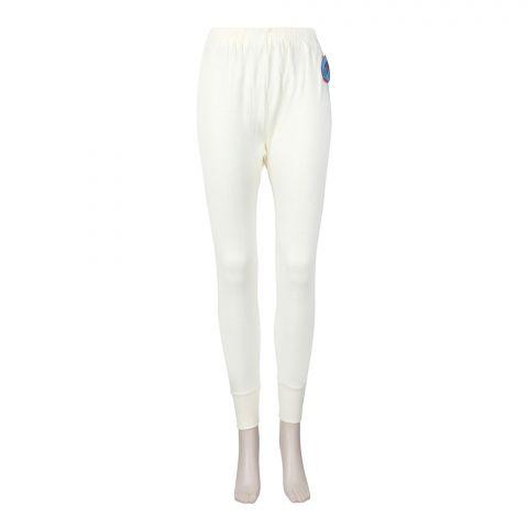Lily Luxury Pure Woollen Ladies Warmer Trouser, Yellow