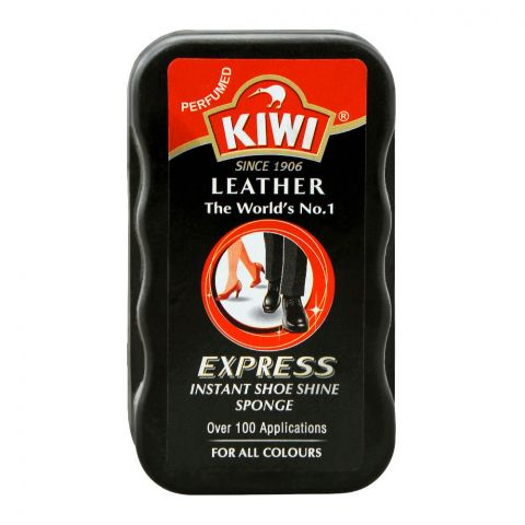 Kiwi Express Instant Shoe Shine Sponge, For All Colours