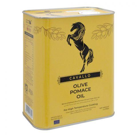 Cavallo Olive Pomace Oil, 2 Liters