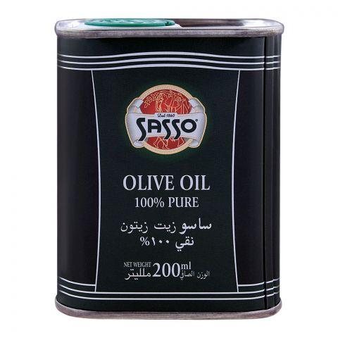 Sasso Olive Oil 200ml Tin