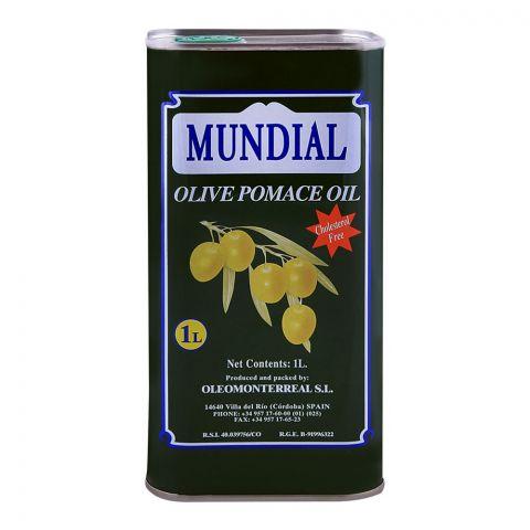 Mundial Olive Pomace Oil 1 Litre Tin