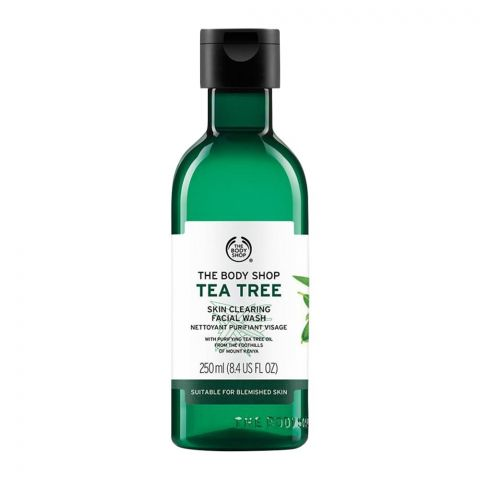 The Body Shop Tea Tree Skin Clearing Facial Wash, 250ml