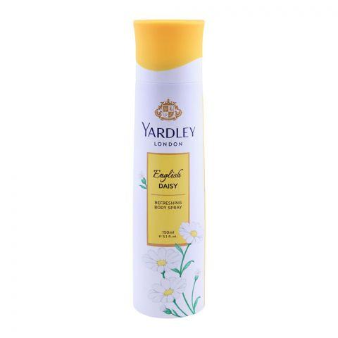 Yardley English Daisy Deodorant Body Spray, For Women, 150ml