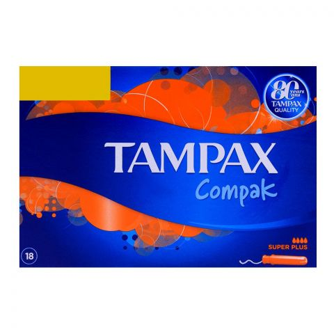 Tampax Compak Super Plus 18-Pack