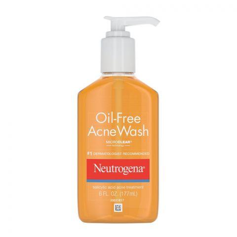 Neutrogena Oil-Free Acne Wash, Micro Clear Technology, 177ml