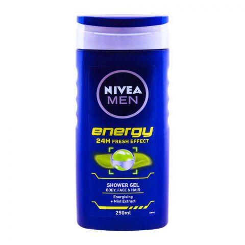 Nivea Men Energy 24H Fresh Effect Shower Gel 250ml