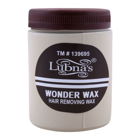 Lubna's Wonder Hair Removing Wax, Large