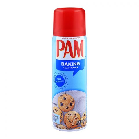 Pam Oil Baking Cooking Spray With Flour 141gm