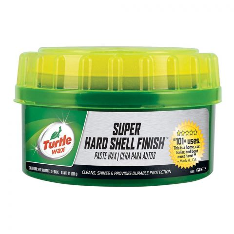 Turtle Wax Super Hard Shell Finish Car Paste Wax, 270g, T223R