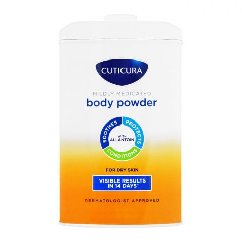 Cuticura Mildly Medicated Talcum Powder, 250g